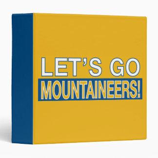 Let's Go Mountaineers! Binders
