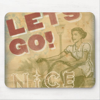 Let's Go Nice! Mouse Pad