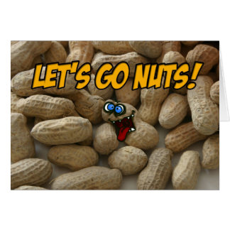 let's go nuts greeting cards