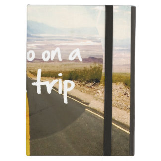 Let's go on a road trip cover for iPad air