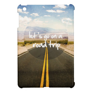 Let's go on a road trip iPad mini covers