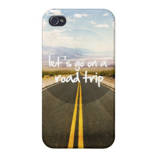 Let's go on a road trip iPhone 4/4S cover