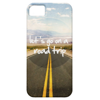 Let's go on a road trip iPhone SE/5/5s case