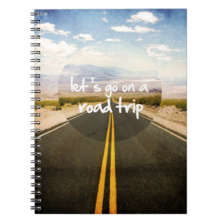 Let's go on a road trip journal