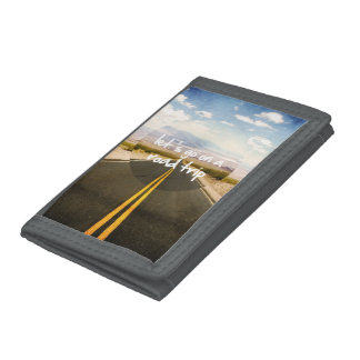 Let's go on a road trip tri-fold wallet