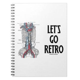 Let's Go Retro (Retroperitoneal Vasculature) Note Books