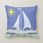 Let's Go Sailing Pillow