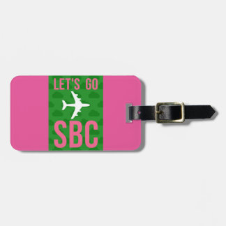 LET'S GO SBC Luggage Tag