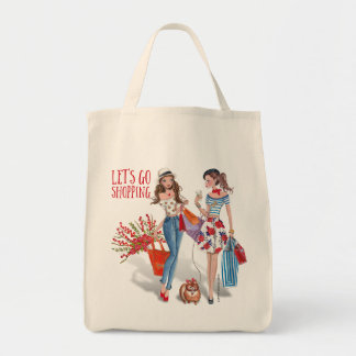 Let's go shopping | Tote Bag