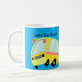 Let's Go Skool Coffee Mug