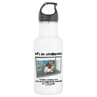 Let's Go Snorkeling Because Fixing Code Is Java Stainless Steel Water Bottle
