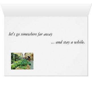 'Let's go somewhere', Quay Encounter postcard