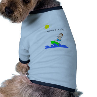 Let's Go Surfing Dog Clothes