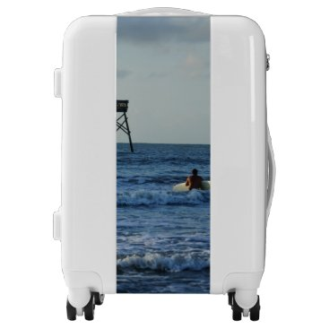 Beach Themed Let's Go Surfing Luggage