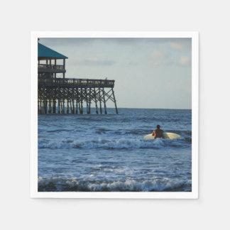 Let's Go Surfing Napkin