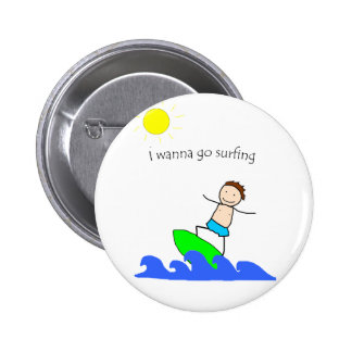 Let's Go Surfing Pins