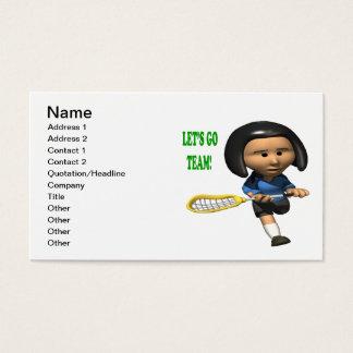 Lets Go Team Business Card