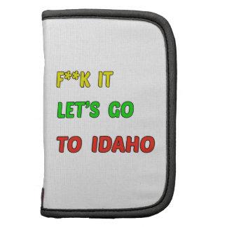 Let's Go To Idaho Organizer