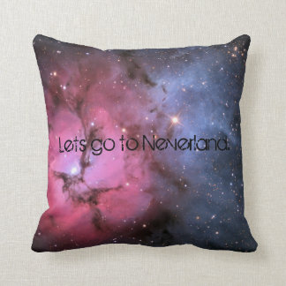 Lets go to Neverland Pillow