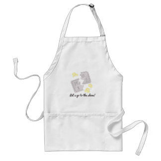 Let's Go To The Show! Adult Apron