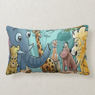 Lets Go to the Zoo - Pillow