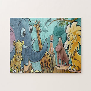 Lets Go To The Zoo - Puzzle