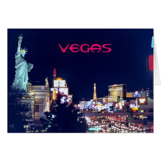Let's go to Vegas! Card
