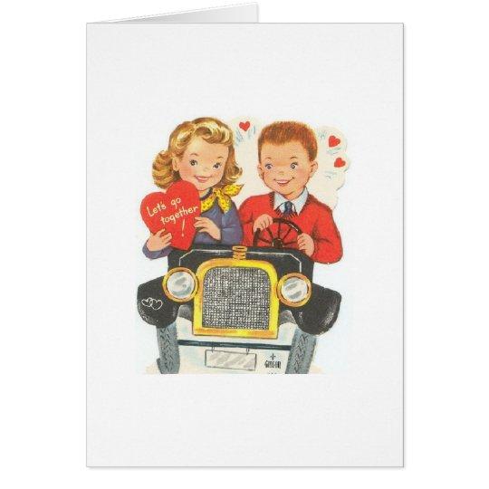 Let's Go Together Card