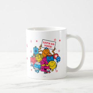 Let's Go Vote! Coffee Mug