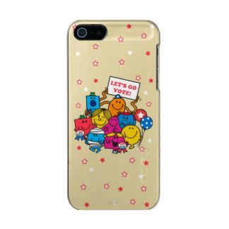 Let's Go Vote! Metallic Phone Case For iPhone SE/5/5s