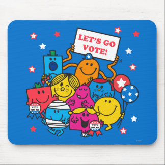 Let's Go Vote! Mouse Pad