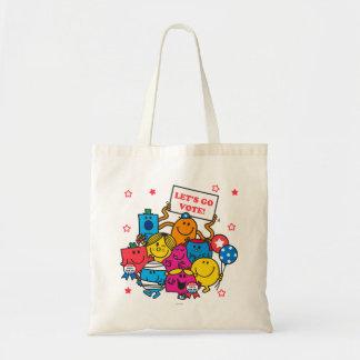 Let's Go Vote! Tote Bag