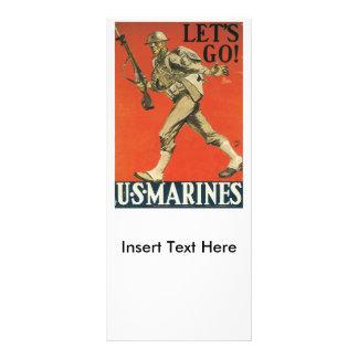 Let's Go World War II Rack Card