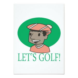Lets Golf Card