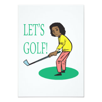 Lets Golf Card