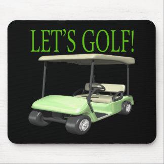 Lets Golf Mouse Pad