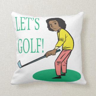 Lets Golf Pillows