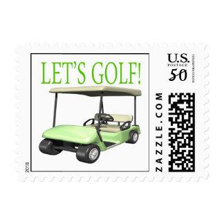 Lets Golf Postage