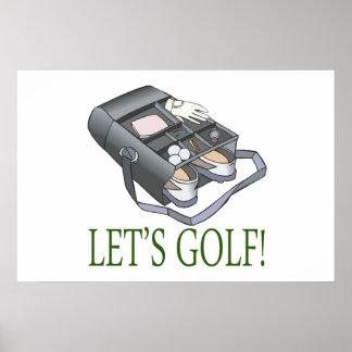 Lets Golf Print