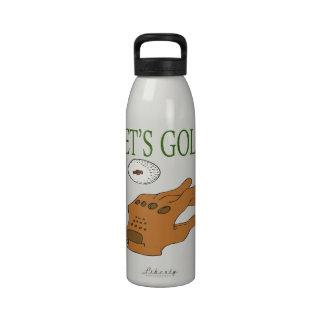 Lets Golf Water Bottles