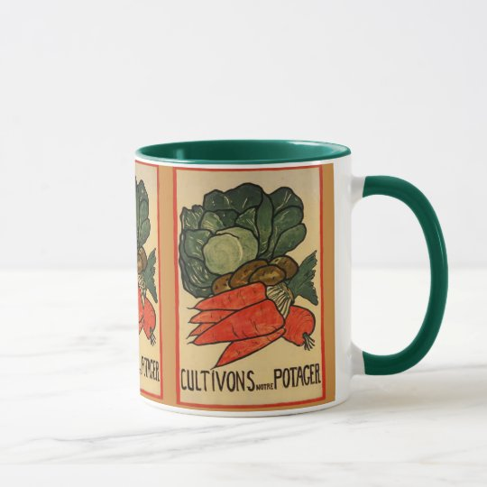Let's Grow a Vegetable Garden Mug