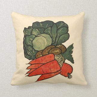 Let's Grow a Vegetable Garden Pillow