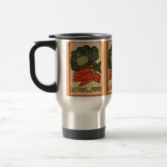 Let's Grow a Vegetable Garden Travel/Commuter Mug mug