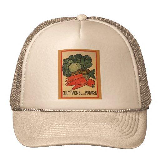 Let's Grow a Vegetable Garden Trucker Hat