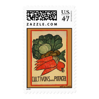 Let's Grow a Vegetable Garden U.S. Postage Stamps