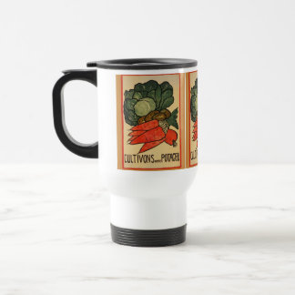 Let's Grow a Vegetable Garden White Travel Mug