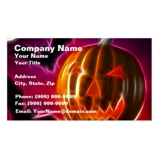 Lets Halloween Business Card