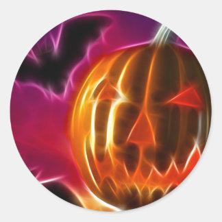 Lets Halloween Classic Round Sticker