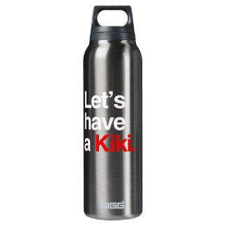 Let's have a kiki  -.png 16 oz insulated SIGG thermos water bottle