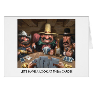 Let's have a look at them cards! card